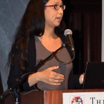 """Gein Wong, Plenary panel, """"Critical Frameworks for Reading Trans Literature,"""" May 22, 2014 (Photo by Iris Allen)"""