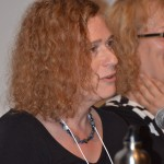 """Joy Ladin, Plenary panel, """"Critical Frameworks for Reading Trans Literature,"""" May 22, 2014 (Photo by Iris Allen)"""