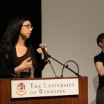Gein Wong, Group reading, May 24, 2014 (Photo by Iris Allen)