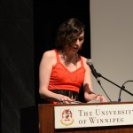 Morgan M Page, Group reading, May 24, 2014 (Photo by Iris Allen)