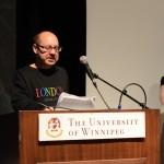 Rupert Raj, Group reading, May 24, 2014 (Photo by Iris Allen)
