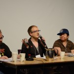 "Plenary panel, ""Identity and Poetics Across Genres,"" May 24, 2014 (Photo by Iris Allen)"