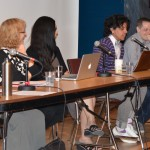 """Plenary panel, """"Critical Frameworks for Reading Trans Literature,"""" May 22, 2014 (Photo by Iris Allen)"""
