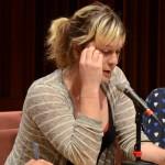 "Imogen Binnie, Plenary panel, ""Story, Histories, Politics,"" May 24, 2014 (Photo by Iris Allen)"