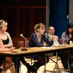 "Plenary panel, ""Story, Histories, Politics,"" May 24, 2014 (Photo by Iris Allen)"
