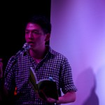 Tom Cho at An Unbecoming Cabaret, May 23, 2014 (Photo by Samuel Ace)