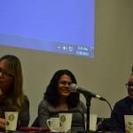 """""""Reading and Storytelling"""" Panel, February 28, 2015 (Photo by Helina Zegeye)"""